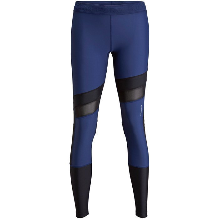 Björn Borg Peace Tights Medieval Blue M
