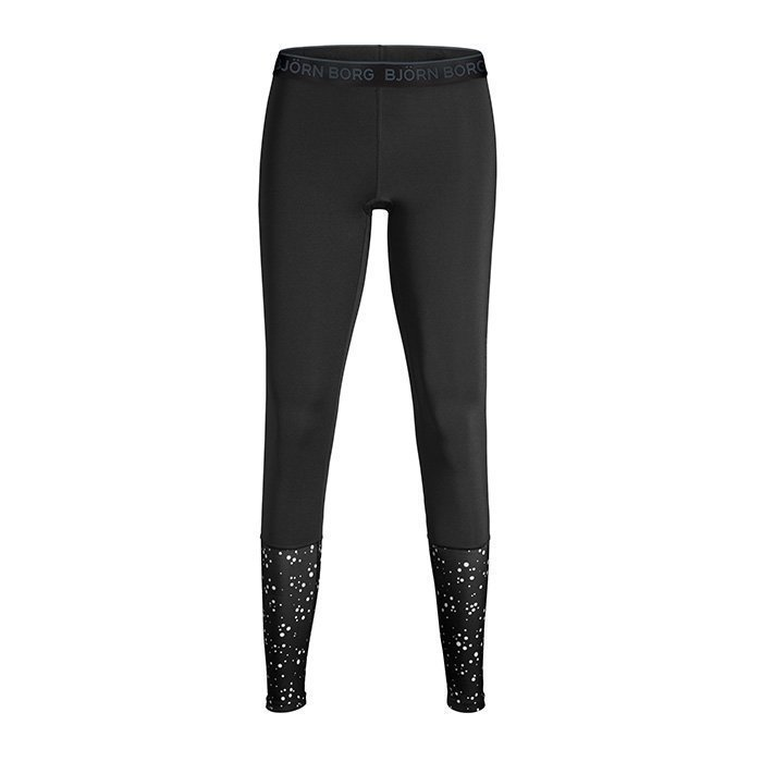 Björn Borg Phoebe Leggings Black With Dot XL