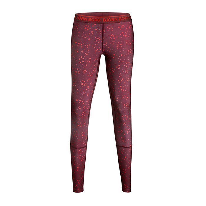 Björn Borg Phoebe Leggings Winetasting With Dot XL