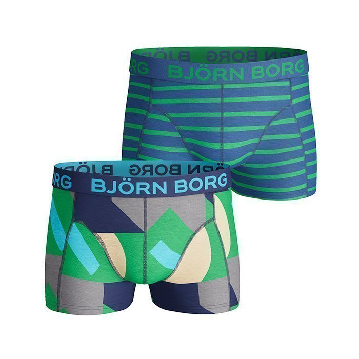 Björn Borg Short Shorts BB Colour 2-pack monaco blue M