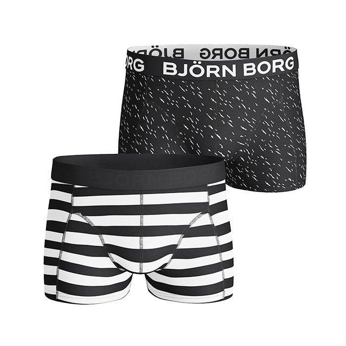 Björn Borg Short Shorts BB Pool Side 2-pack black