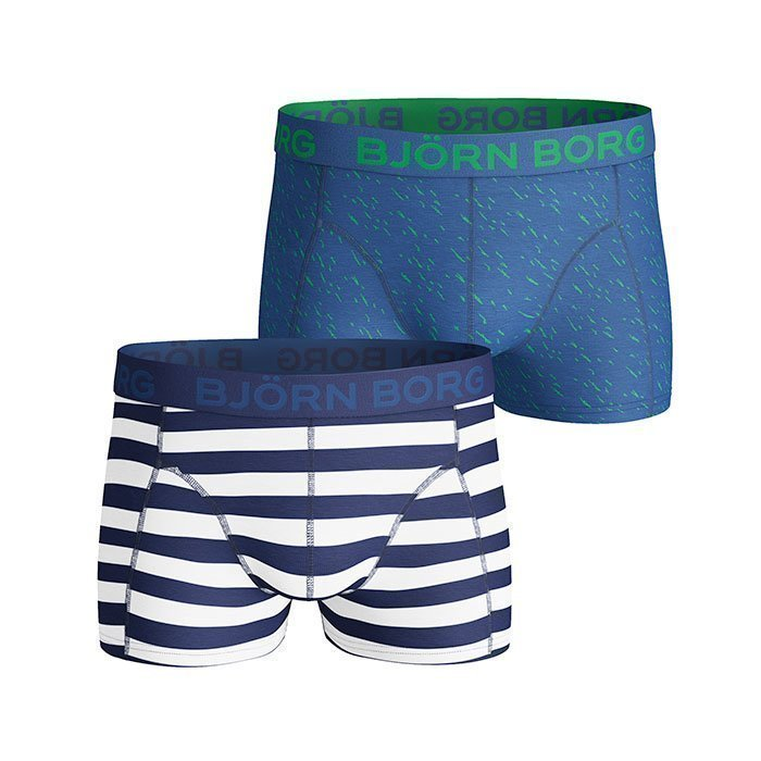 Björn Borg Short Shorts BB Pool Side 2-pack monaco blue S