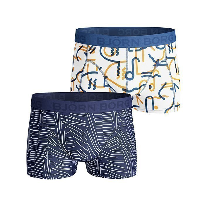 Björn Borg Short Shorts BB Sketch 2-pack monaco blue L
