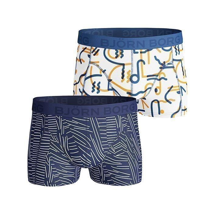 Björn Borg Short Shorts BB Sketch 2-pack monaco blue