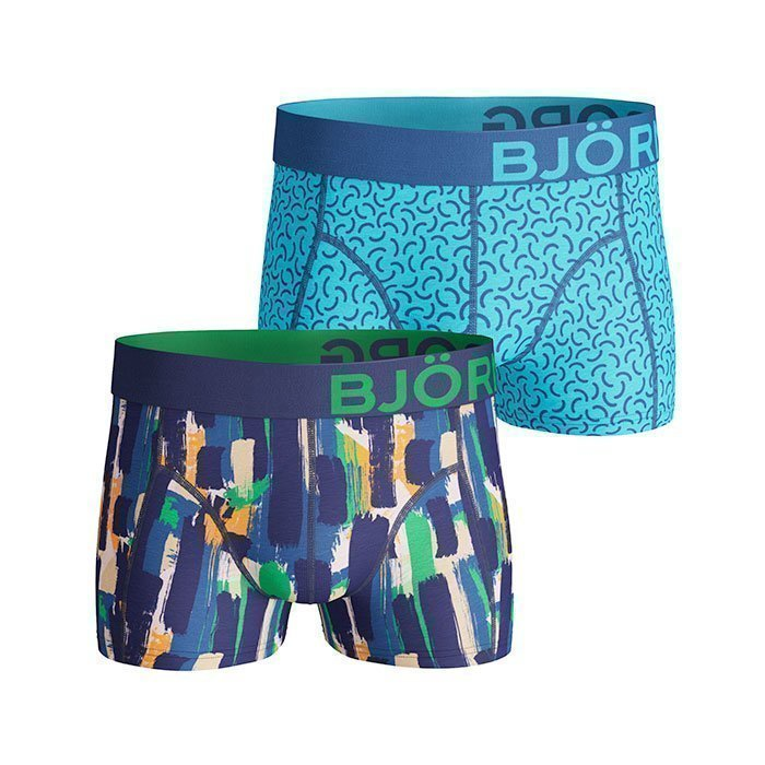 Björn Borg Short Shorts BB Strokes 2-pack monaco blue S