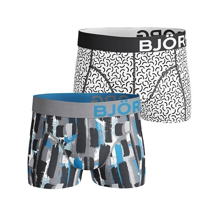 Björn Borg Short Shorts BB Strokes 2-pack quicksilver XL