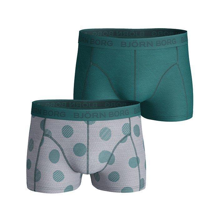 Björn Borg Short Shorts Dot 2-P Pacific XL