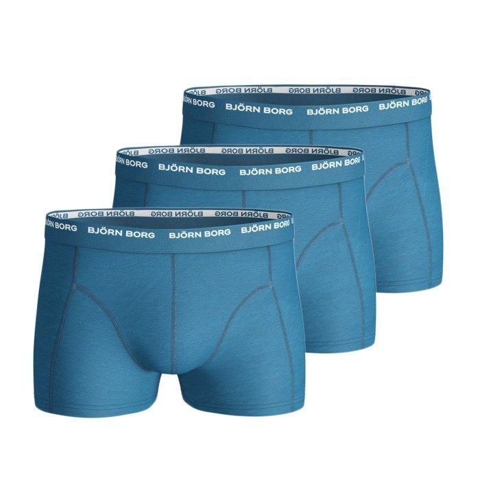 Björn Borg Shorts 3-pack blue grotto S
