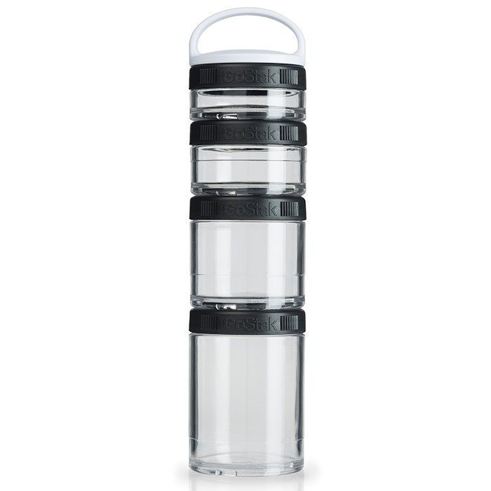 Blender Bottle GoStak Black