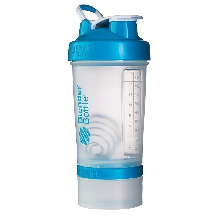 Blender Bottle Prostak Clear/Aqua
