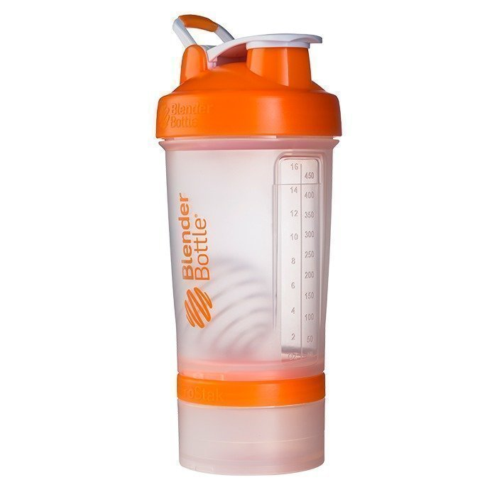Blender Bottle Prostak Clear/Orange