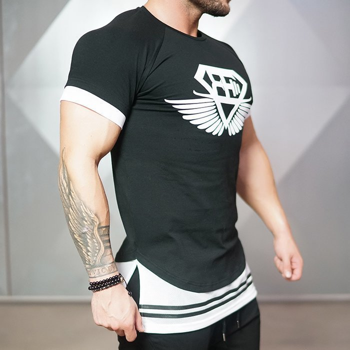 Body Engineer Nox T-shirt Black/White XXL