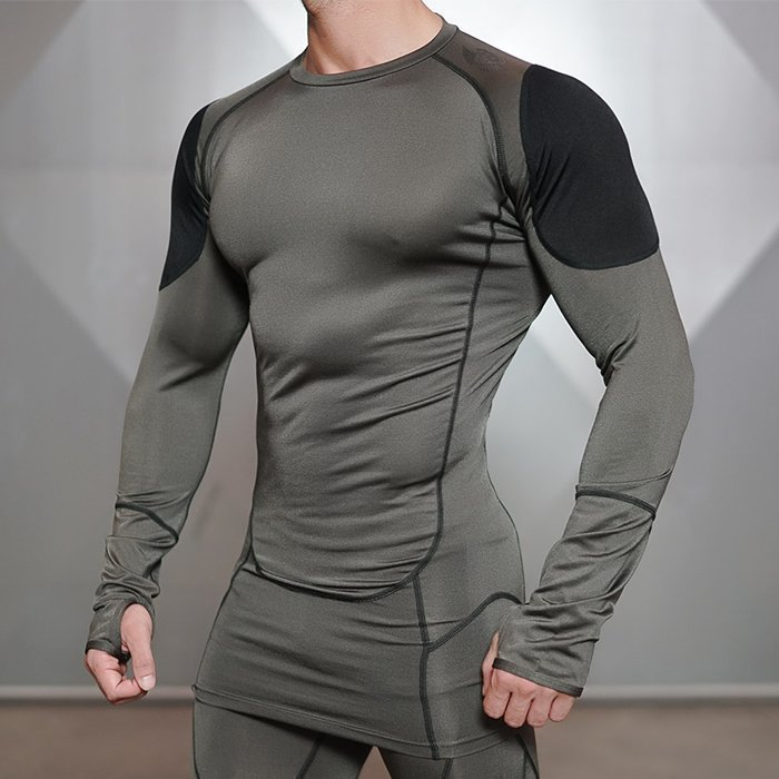 Body Engineer Ventus Longsleeve Army S
