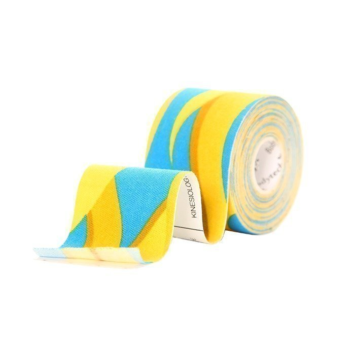 BodyTech Kinesiology Tape 50mmx5m BLUE-YELLOW (Sweden)