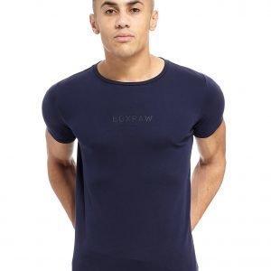 Boxraw Pima Cotton T-Shirt Laivastonsininen
