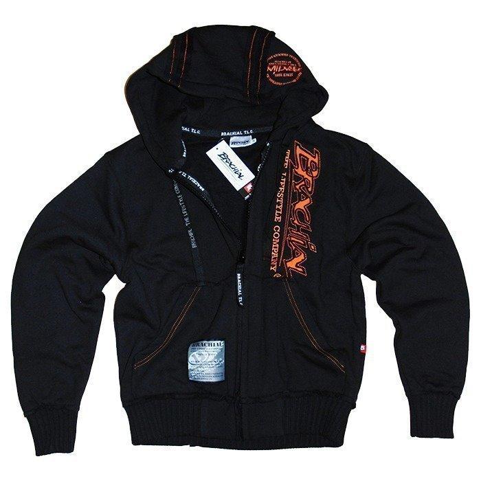 Brachial Signature Zip-Hoody black S