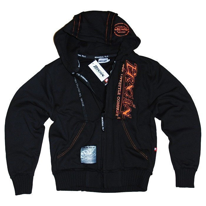 Brachial Signature Zip-Hoody black