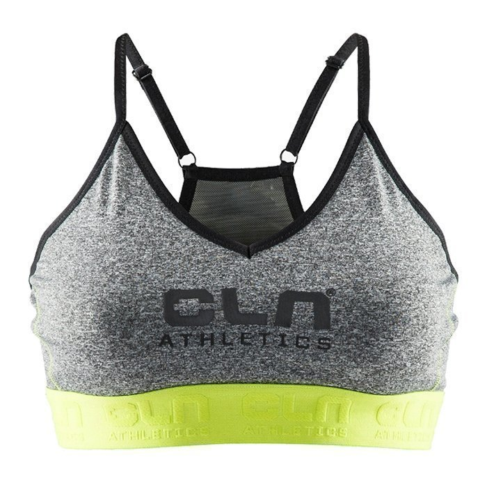 CLN Athletics CLN Fuel Bra Grey L