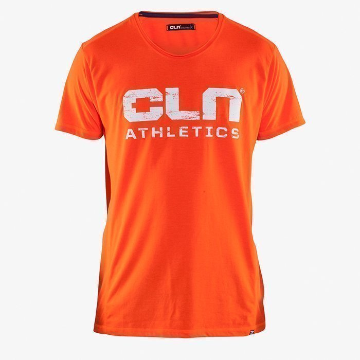 CLN Athletics CLN Main Tee Neon Red M