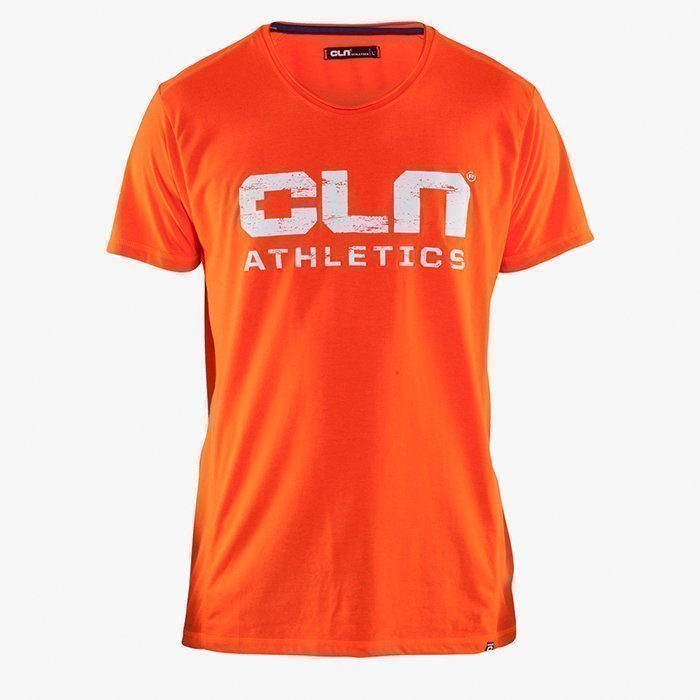 CLN Athletics CLN Main Tee Neon Red S