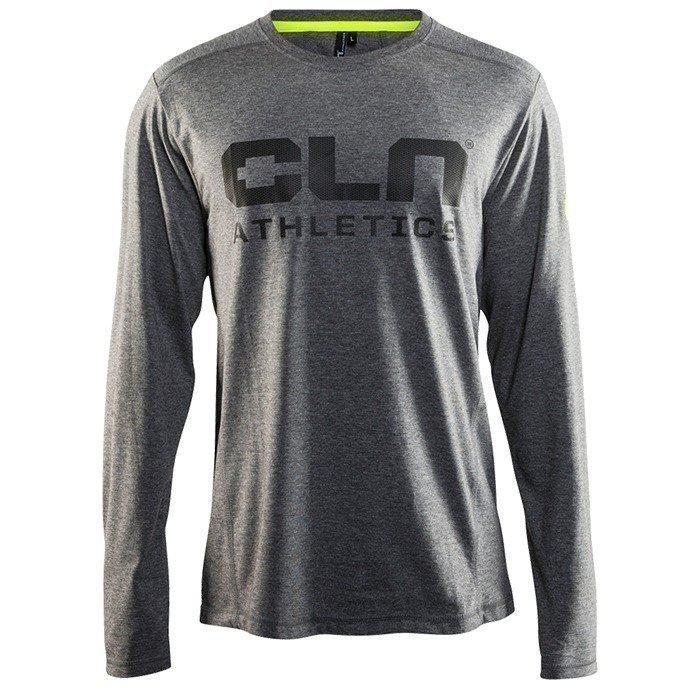 CLN Athletics CLN Sharp l/s Tee Grey
