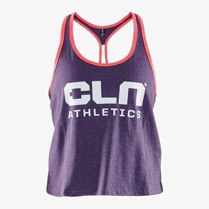 CLN Athletics CLN Women Cropped Tank Aubergine L