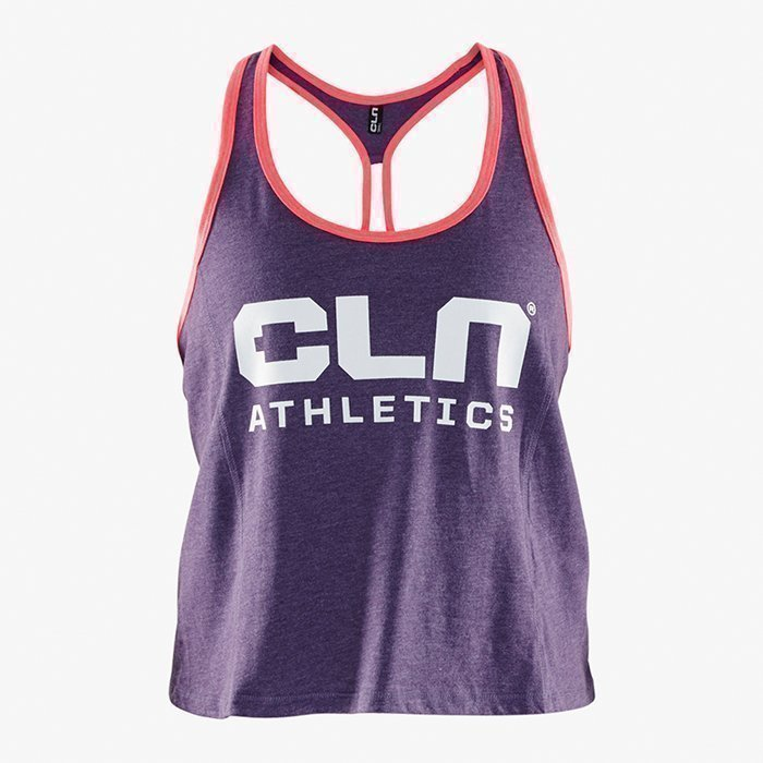 CLN Athletics CLN Women Cropped Tank Aubergine XS