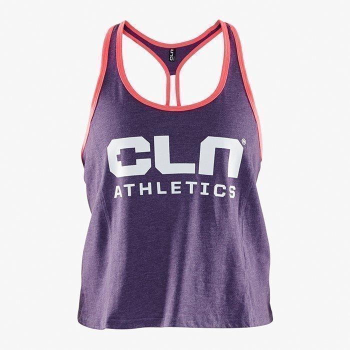 CLN Athletics CLN Women Cropped Tank Aubergine XS