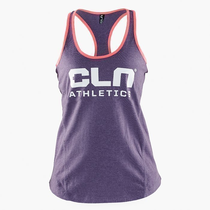 CLN Athletics CLN Women Promo Tank Auborgine