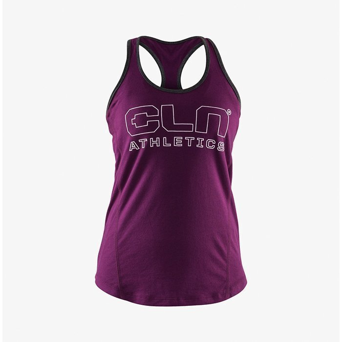 CLN Athletics CLN Women Universal Tank Plum S