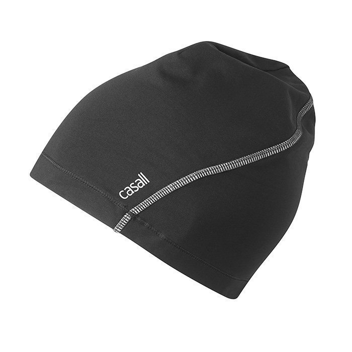 Casall Curve Warm Hat Black OS