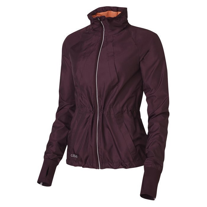 Casall District Wind Jacket Plum Night 40