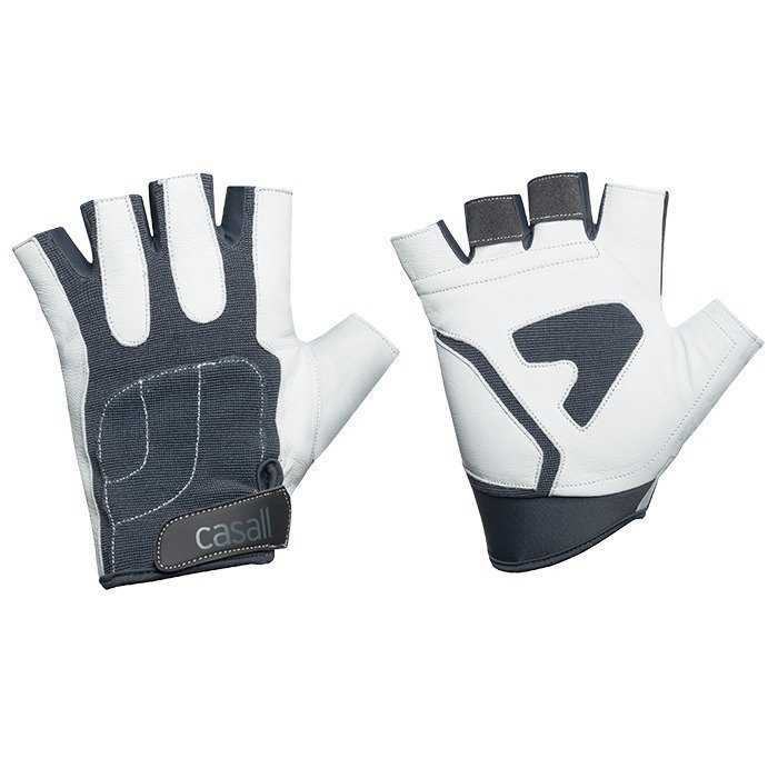 Casall Exercise glove PRO white/grey