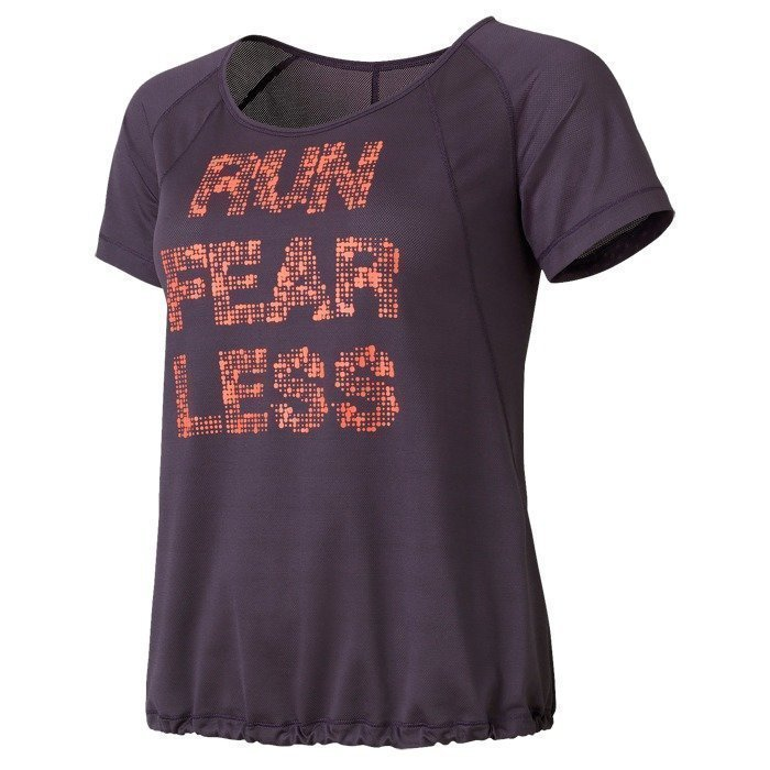 Casall Fearless Loose Tee purple shade