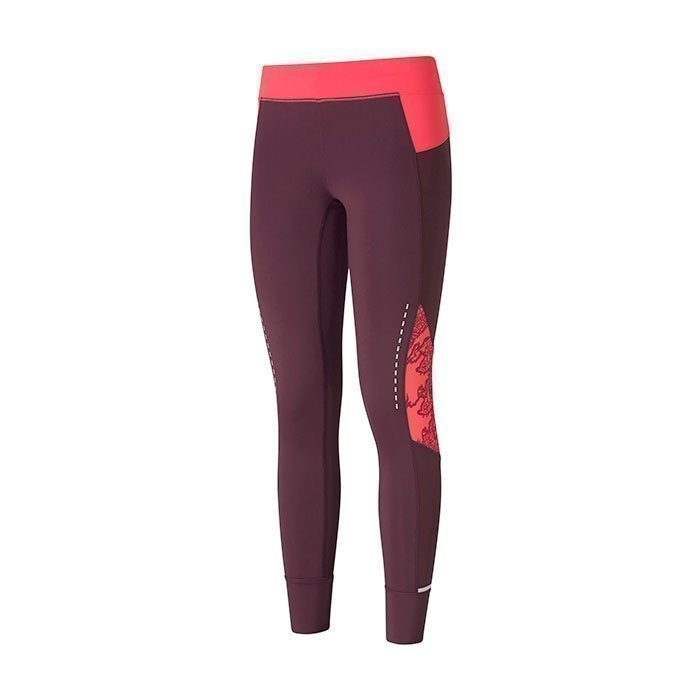 Casall Guide Runner Tights Plum Night 38