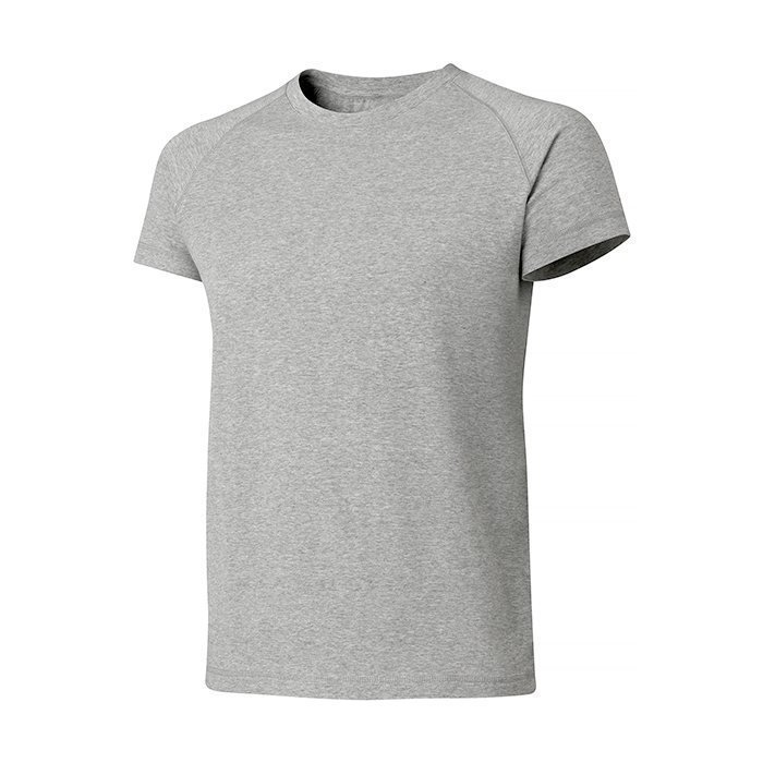 Casall M Graphic Tee Grey Melange