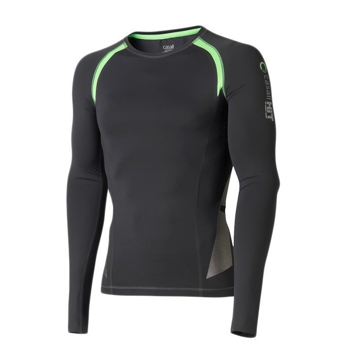 Casall Men's HIT Velocity Longsleeve thunder/green