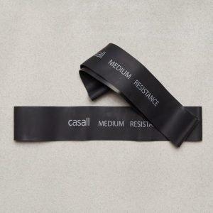 Casall Rubber Band Medium Kuminauha Musta