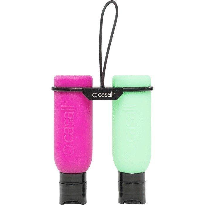 Casall Twin Bottle 100 ml (2 pcs) phlox/chromium