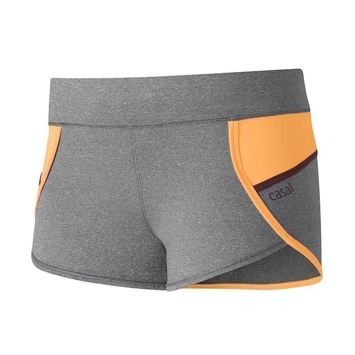 Casall Urban Sport Shorts Dk Grey Melange 34