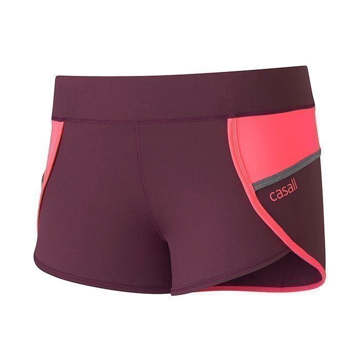 Casall Urban Sport Shorts Plum Night 36