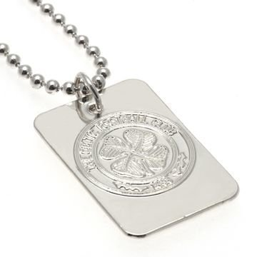 Celtic Hopea Plated Dog Tag & Chain