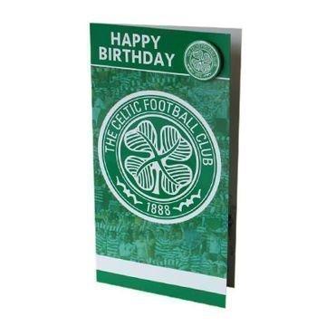 Celtic Syntymäpäiväkortti & Badge