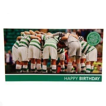 Celtic Syntymäpäiväkortti Huddle