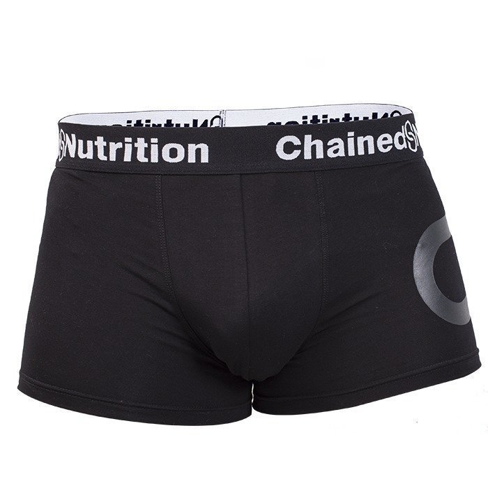 Chained Nutrition Boxer Shorts Black XL