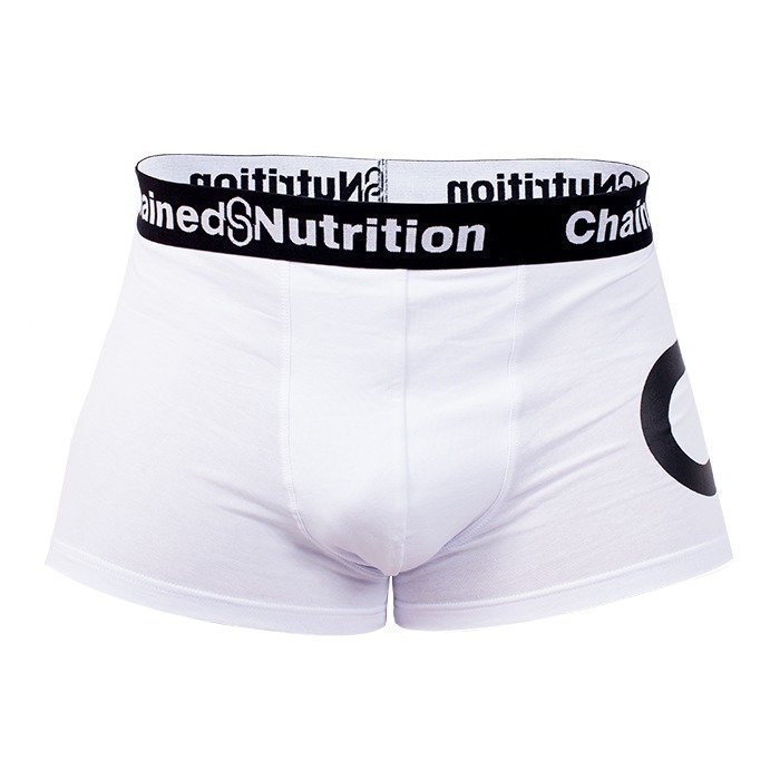Chained Nutrition Boxer Shorts White M