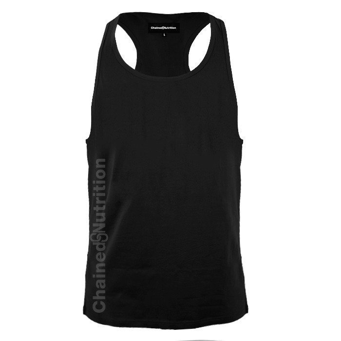 Chained Nutrition Tank Top Black