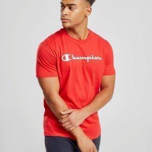 Champion Core Script T-Shirt Punainen