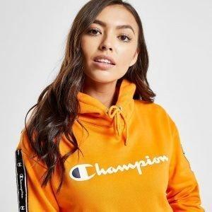Champion Tape Crop Overhead Huppari Oranssi
