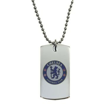 Chelsea Colour Crest Dog Tag
